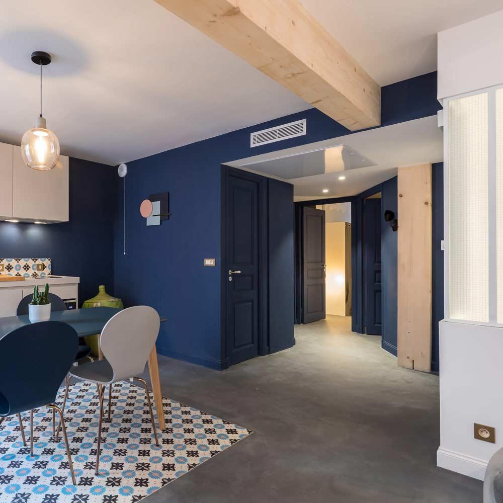 Appartement avec cuisine